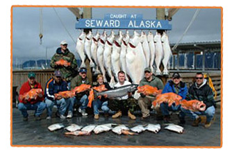 Our combination trip for Alaska Halibut and silver salmon provides an unforgettable Alaska fishing charter.